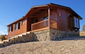 casa madera natura verde