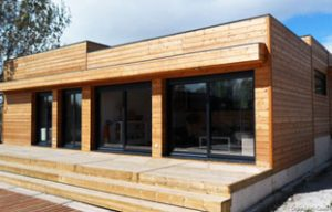 casa madera natura rosso