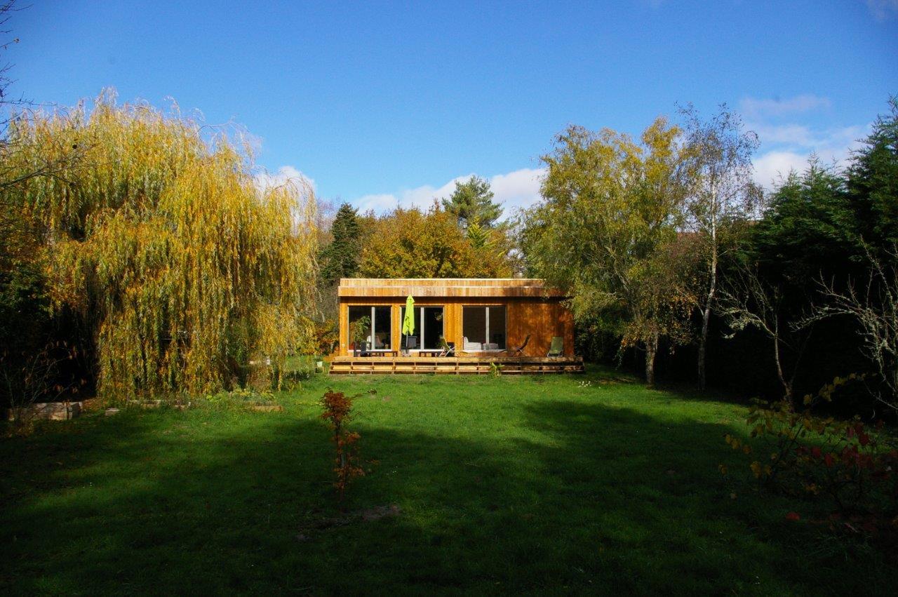 Casa de madera eficiente en Montrieux en Sologne