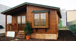Casa de madera Natura Verde